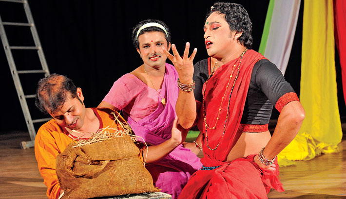 'Shikhandi Kotha' to be staged at BSA today