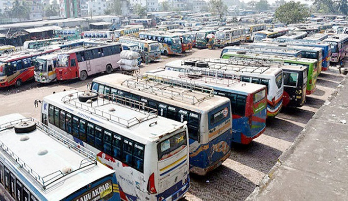 Commuters hit hard by transport strike in Khulna