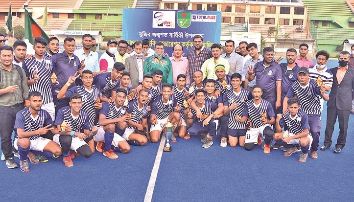 Shaheed Smriti Hockey: Navy retain title