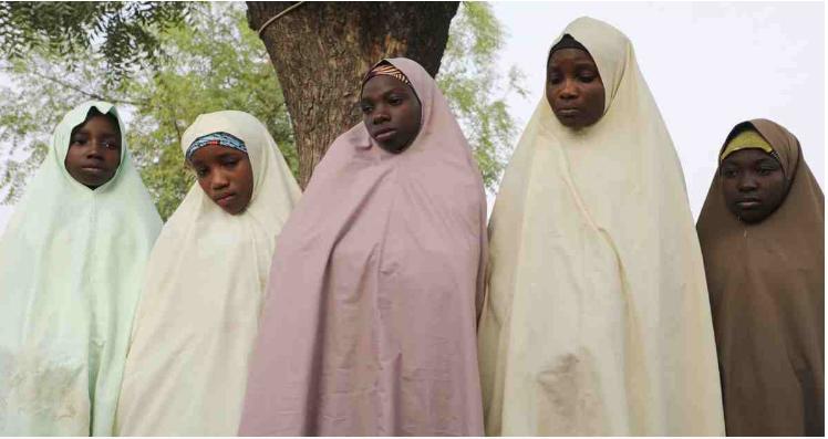 Hundreds of Nigerian schoolgirls taken in mass abduction