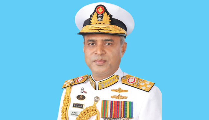 Navy chief returns home from UAE
