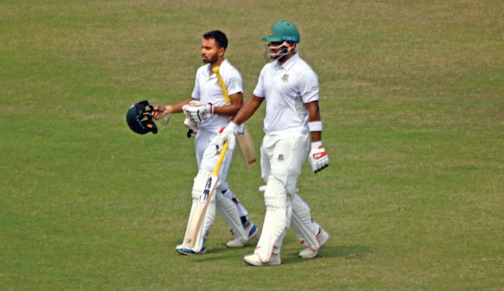 Bangladesh Emerging Team inch closer to innings victory