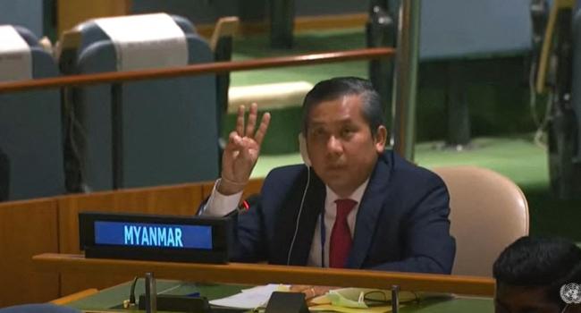 Myanmar's UN envoy fired for denouncing junta as crackdowns continue