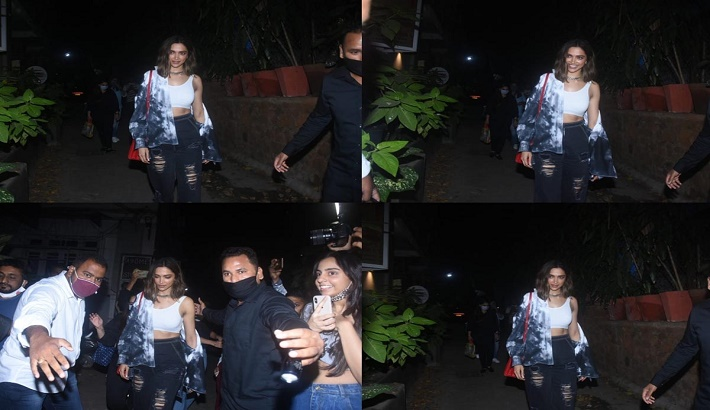 Deepika Padukone mobbed outside eatery, video goes viral