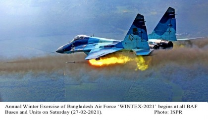 Bangladesh Air Force annual winter exercise 'Wintex-2021' begins