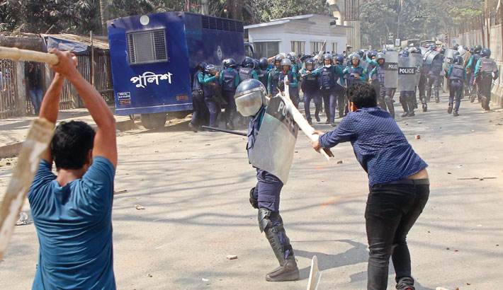 47 BNP men sued over JCD-police clash at Press Club