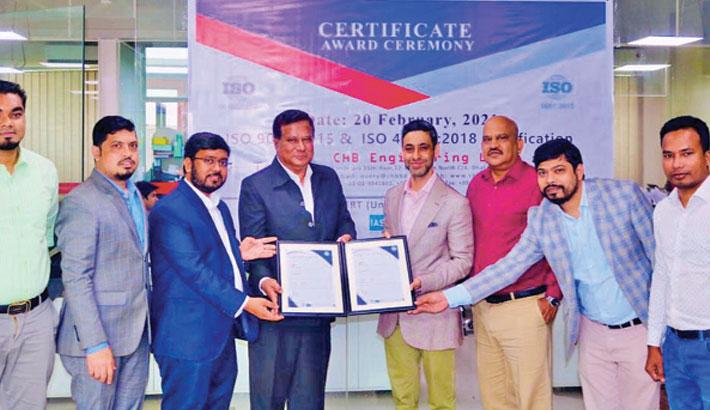 Unicert certifies CHB Engineering