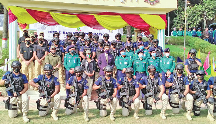 Role of Bangladesh police lauded
