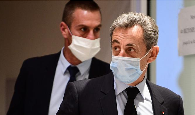 Ex-French President Nicolas Sarkozy gets 3-year jail in corruption case