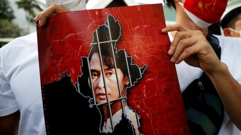 Myanmar's Suu Kyi to face court after deadly crackdown