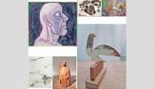 Three-day virtual art exhibition at Akhrabari