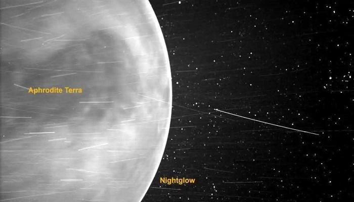 Nasa's solar probe sends stunning image of Venus and its terrain