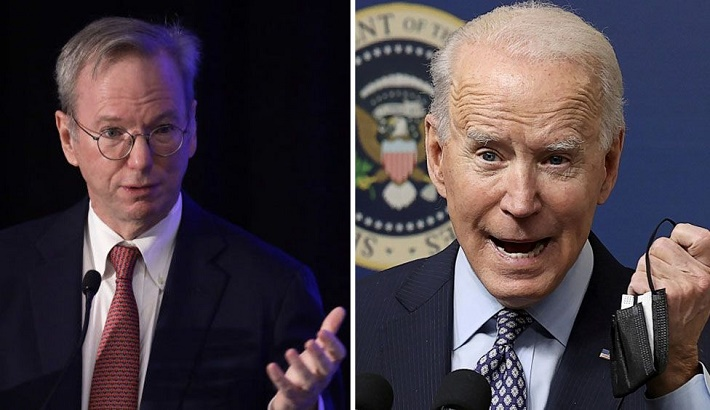 Biden urged to back AI weapons to counter China and Russia threats