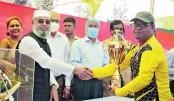 Bangabandhu Centenary cricket held at Milestone College