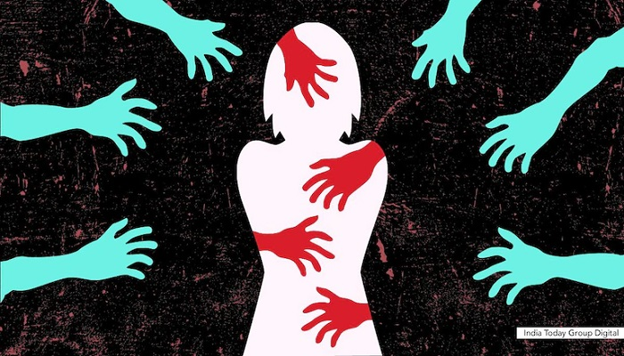 26,695 rape cases filed with police in 5 years