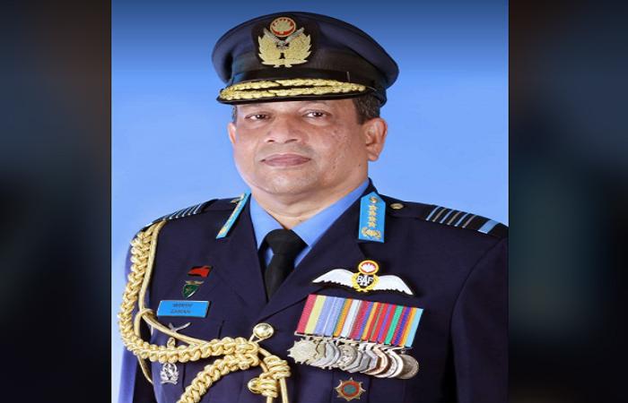 Air Force chief leaves Dhaka for Sri Lanka