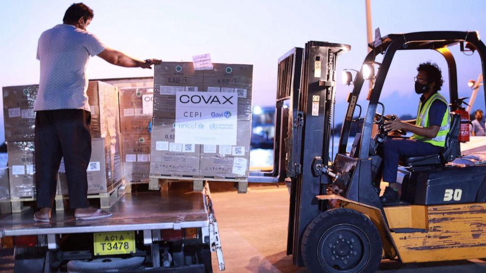 Covax details rollout of 238 million vaccine doses