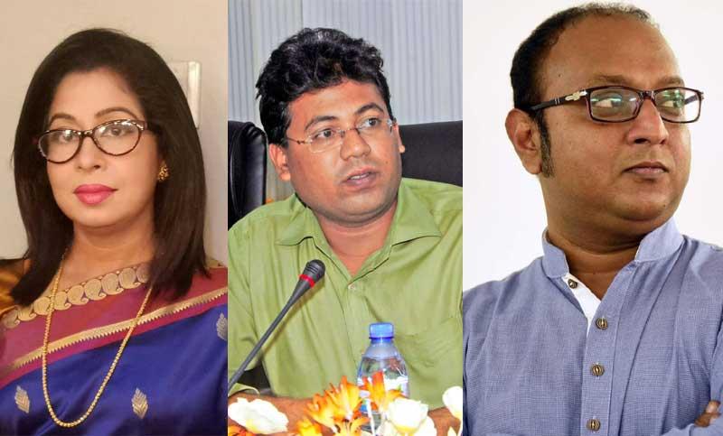 Nadira, Rumee, Tanzim President, VP, GS of ATJFB new EC