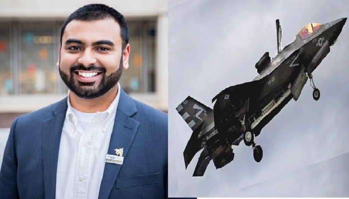 Bangladeshi youth makes history by manufacturing advanced F-35 fighter!