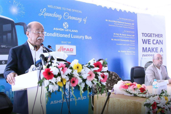 Bangladesh to emerge as automobile industry hub by 2030: Humayun