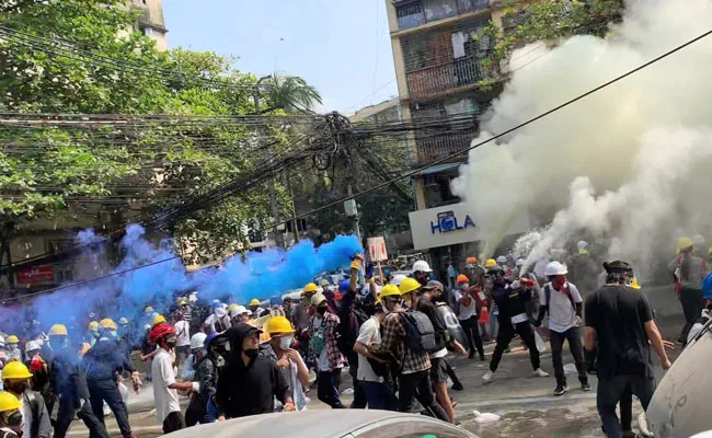Myanmar sees deadliest day as 38 protesters killed