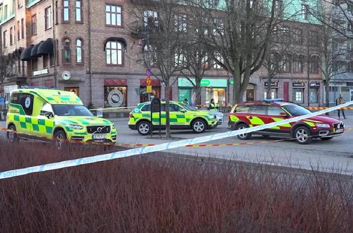 Seven injured in 'suspected terrorist' stabbings in Sweden