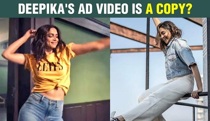 Deepika's ad faces plagiarism charges