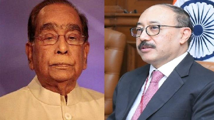 Indian foreign secretary Shringla mourns death of HT Imam