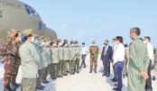 BAFmedical team reaches Maldives