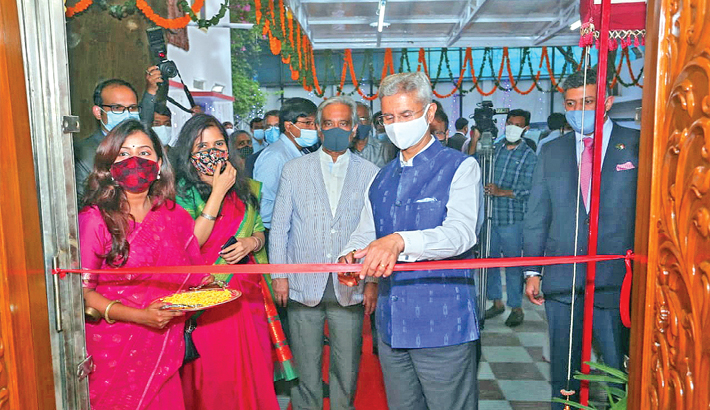 Jaishankar inaugurates new Indian Cultural Centre in Dhaka