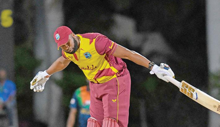 Pollard's six sixes  trumps Dananjaya  hat-trick