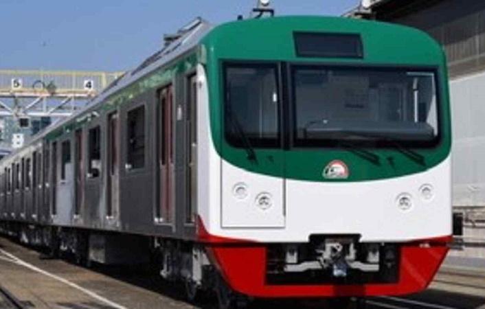 1st set of Metro train leaves Japan for Mongla