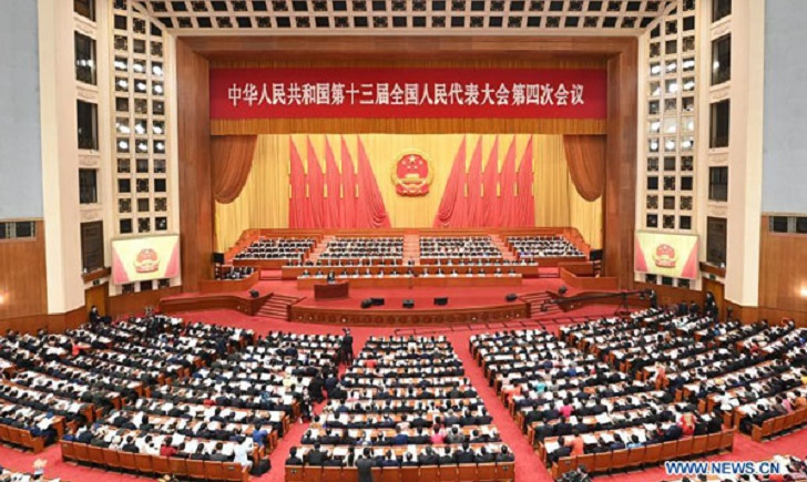 Draft decision on improving HK electoral system submitted to China's top legislature for review