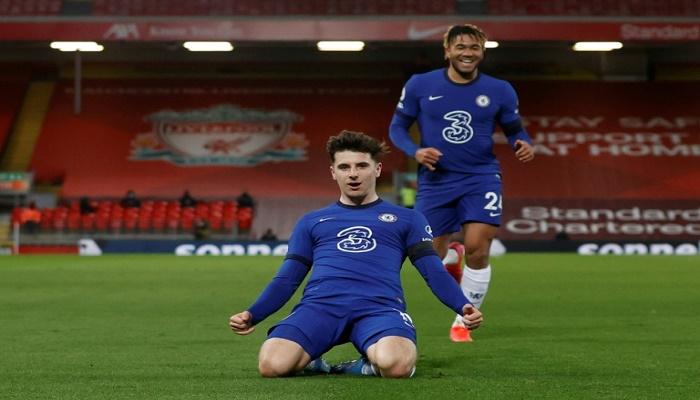 Mount fires Chelsea as Liverpool crash, Everton boost top four bid