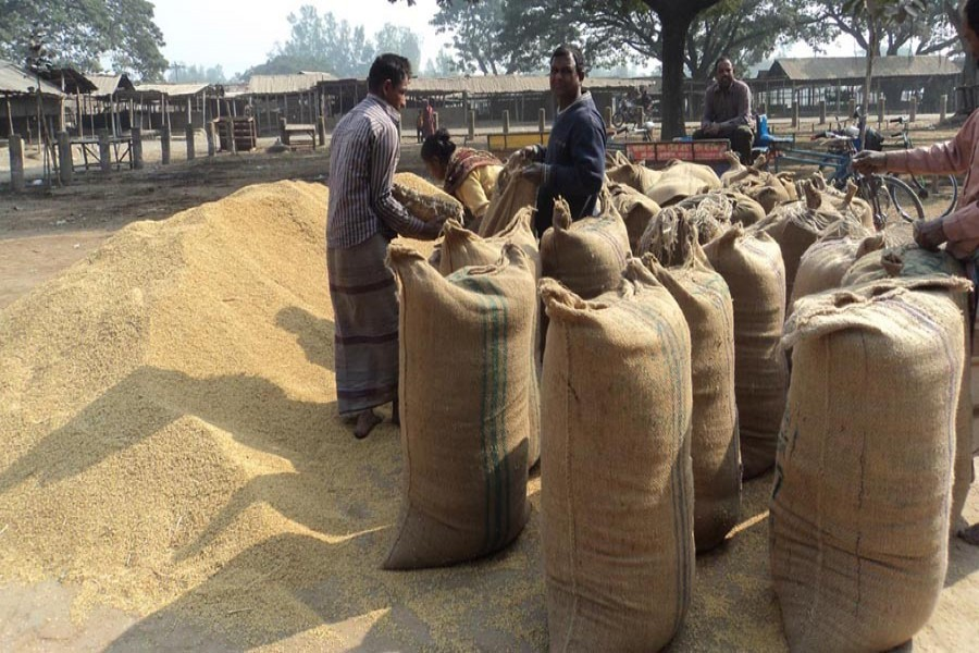 Only 9.75pc target met in Aman rice procurement