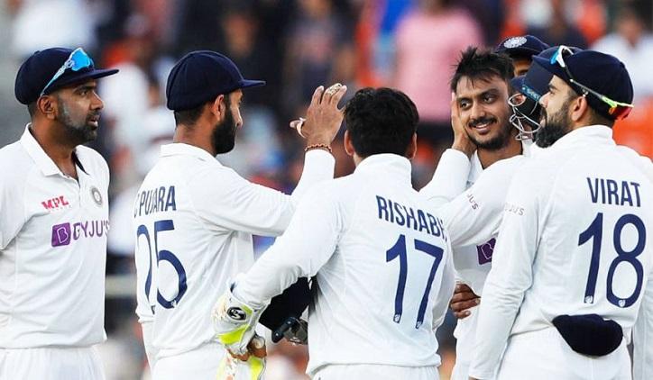 Ashwin, Patel take India to verge of England Test series win