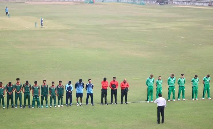 Bangladesh Emerging takes on Ireland Wolves today