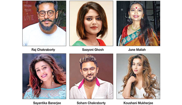 Celebrities with Trinamool ticket