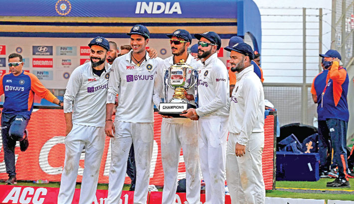 India advance to WTC final outplaying England