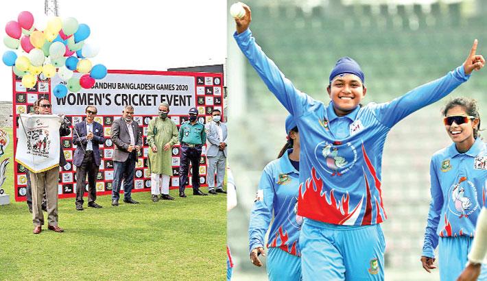 Fariha powers Bangladesh Blue clinch first win