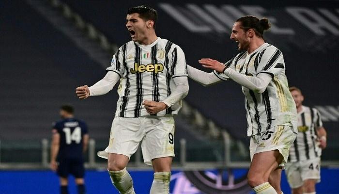 Morata spearheads Juve fightback against Lazio to close gap at top