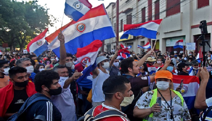 Paraguay reshuffles cabinet after violent Covid-19 protests