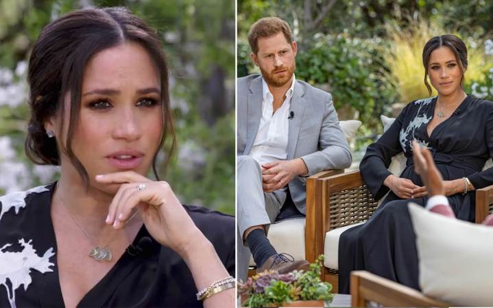 Meghan says contemplated suicide, alleges royal racism