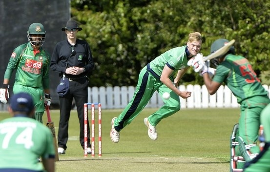 Emerging Team face Ireland Wolves Tuesday