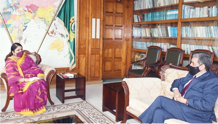 Algerian envoy calls on Speaker Dr Shirin Sharmin