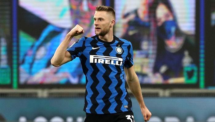 Skriniar sends Inter back six points clear in Serie A