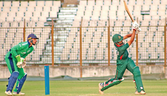 Saif leads Emerging Team to comprehensive victory