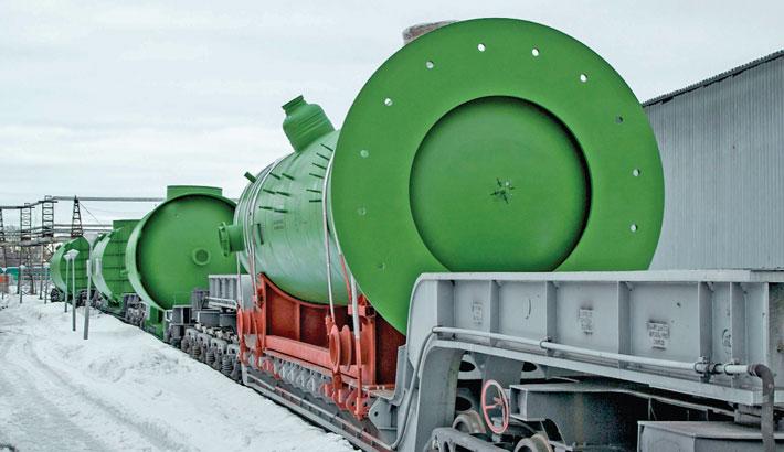 ZIO-Podolsk JSC delivers equipment for Rooppur NPP