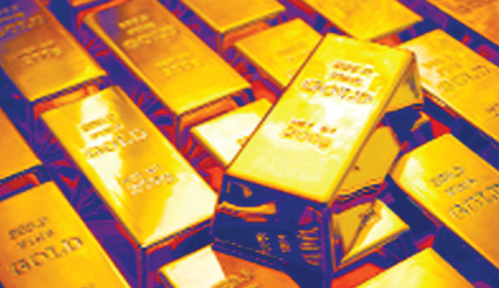 Gold prices drop again in local market