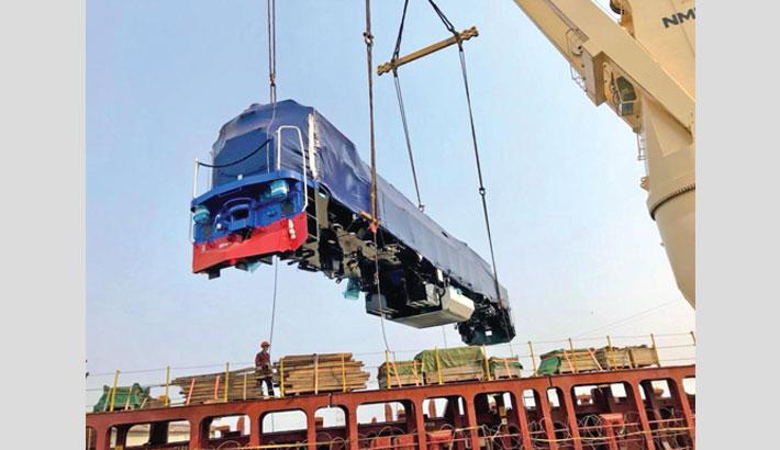 BR gets 8 new locomotives